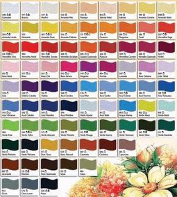 Tinta Para Tecido Acrilex 37ml - *kit*48*cores*