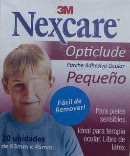 3m Nexcare Opticlude Pediatrico Parche Adhesivo Ocular X 20