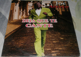 Joe Arroyo/ Deja Qué Te Cante/ Salsa Tropical/ Lp 1997 Sony