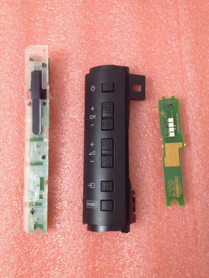 Teclado E Sensor Controle Remoto Tv Sony Kdl-40ex725