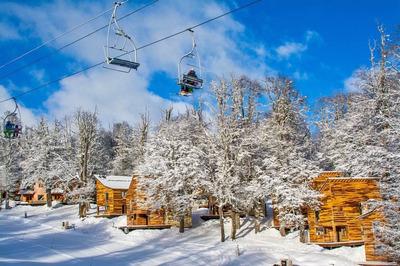 Cabaña En Chapelco Ski In Out Sobre Pistas En Las Pendientes