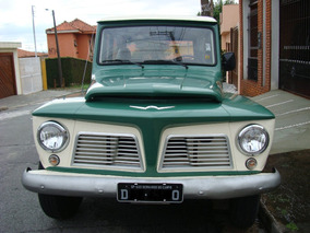 Rural Willys 1966 Placa Preta E C/ Manual Proprietário
