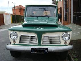 Rural Willys 1966 Placa Preta E C/ Manual Proprietário