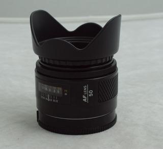 Minolta 50mm F 1.7 Lente Para Camara Sony Alpha Montura A