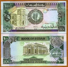 Sudão 100 Libras 1989 P. 44b Fe Cédula - Tchequito