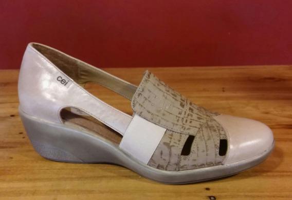 Zapatos Cuero Linea Confort