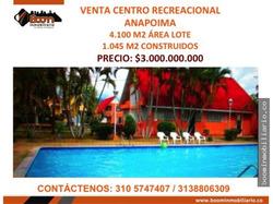 *venta Lote Con Centro Vacacional Anapoima