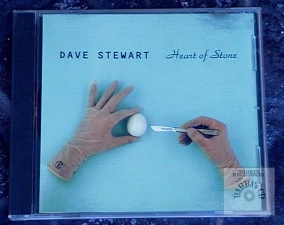 Dave Stewart (ex Euryhtmics) - Heart Of Stone (cd Single)