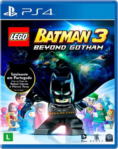 Lego Batman 3 Beyond Gotham Ps4 Mídia Física