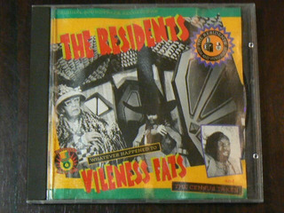 Cd The Residents Whatever Happened To Vileness Fats Año 1991