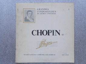 Livreto Grandes Comp. Música Universal - Chopin