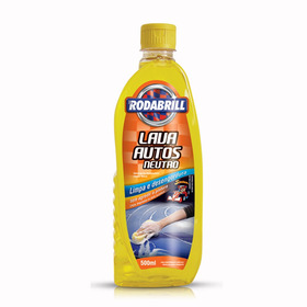Shampoo Xampu Automotivo Neutro Rodabrill 500ml Lava Autos