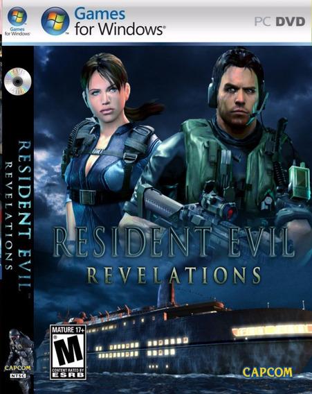 Resident Evil Revelations Pc Envio Em 5 Minutos Original