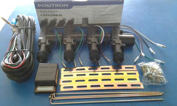 Kit Trava Eletrica 4 Portas Tr410 Universal Positron