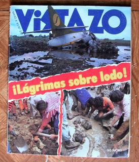 Revista Vistazo Accidentes Aéreos Y Catástrofes Mundiales