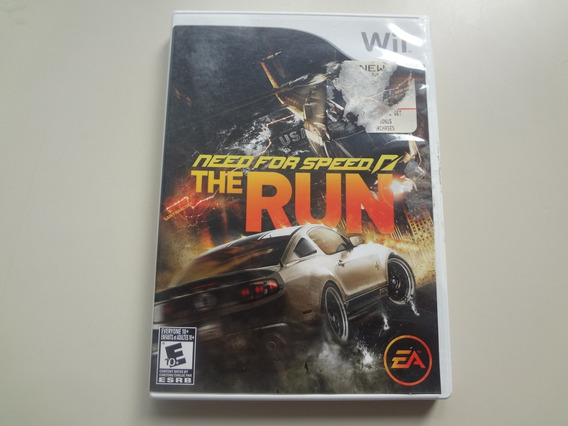 Need For Speed The Run Orig Americano Completo P Wii