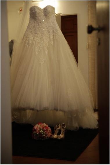 Vestido De Noiva Pablo Stellai