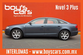 Audi A6 2009 Blindado Nivel 3 Plus Security
