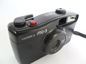 Câmera Máquina Fotográfica Antiga Yashica Mg 3 Coleção