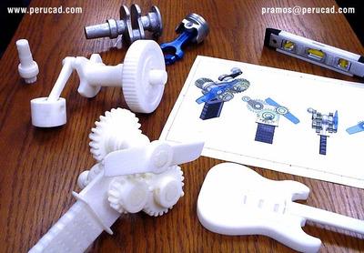 Impresión 3d, Prototipado Rápido, Servicios Profesionales