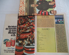 Revista Flamengo Grandes Clubes Brasileiros N°4 1971