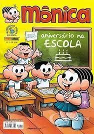 Mônica - Panini Comics - Nºs 1, 2, 3, 4, 5, 6 E 7