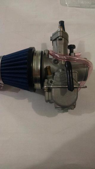 Carburador Competiçao Keihin 34mm 32mm + Filtro Esportivo