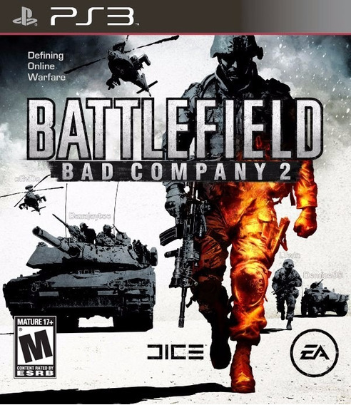 Jogo Battlefield Bad Company 2 Ps3 Playstation 3 Original