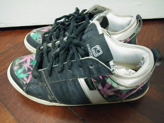 Zapatillas Krial N° 37 Skate / Urbana Hojas