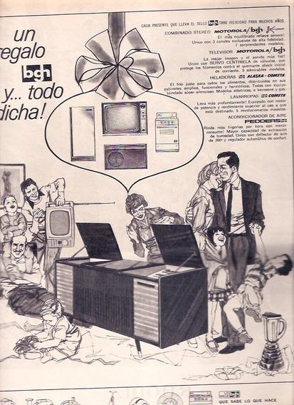 Antigua Publicidad Electrodomesticos Bgh