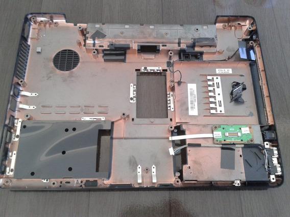Carcaça Inferior Toshiba Satéllite A200 A205 Séries -usada