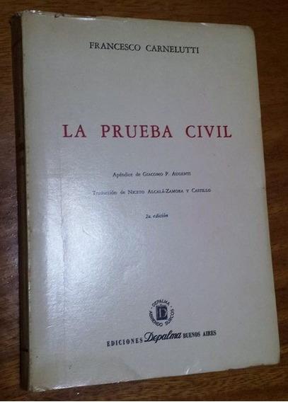 Livro Francesco Carnelutti - La Prueba Civil
