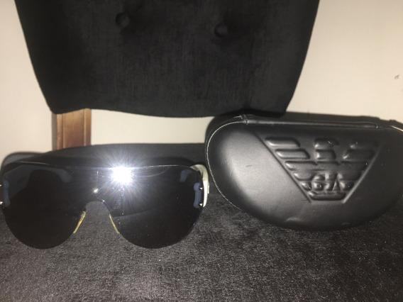 Óculos Emporio Armani Branco/azul