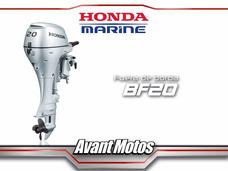 Motor Fuera De Borda Honda Bf20 Pata Corta 2016 Avant Motos