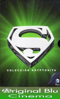 Pack Superman 5 Dvd: Colección Kryptonita - Dvd Original