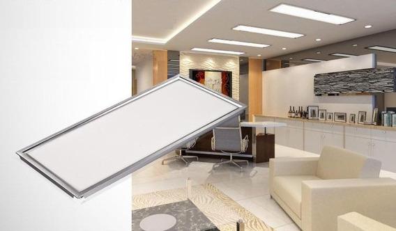 Painel Led 120x60 Cm Plafon Branco Frio 72w 7200lm
