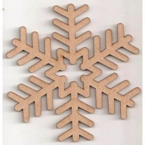 Kit Flocos De Neve Frozen - 20 Peças Com 15 Cm Personalizado