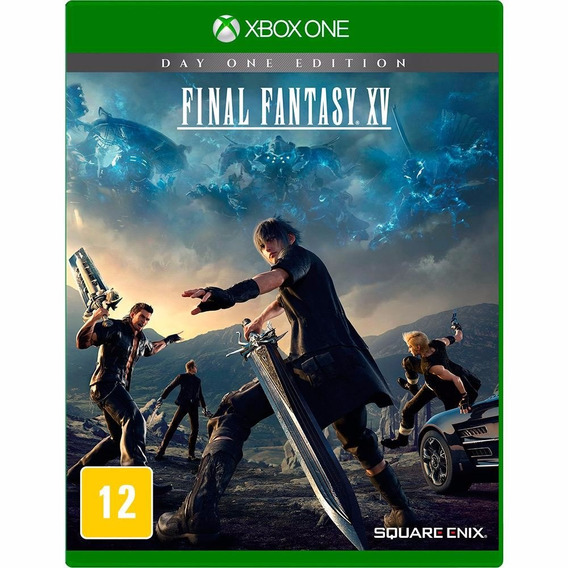 Jogo Novo Mídia Física Final Fantasy Xv Original Xbox One
