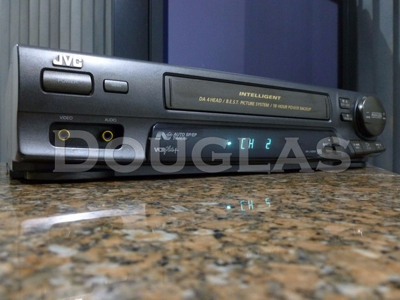 Video Cassete Jvc Hr-j436m Vcr Pluss+ Com Defeito