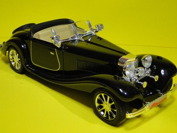 Mercedes 500k Conversivel Capota Abaixada Comp25cm Larg09cm