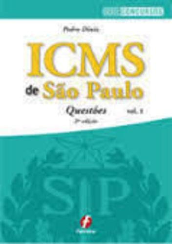 Livro Icms De São Paulo - Questões Pedro Diniz