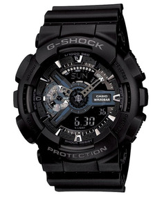 Relógio Casio G-shock Ga-110-1b H.mundial Original Promoção