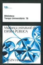 Livro Mudança Estrutural Da Esfera Pública Jurgen Habermas