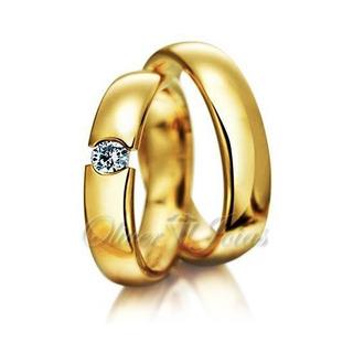 Aliança De Ouro Casamento E Noivado Maringá Oliver Joias