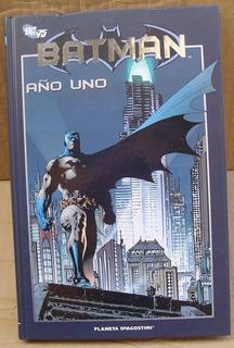 Batman Año Uno 1 Tapa Dura Planeta Deagostini