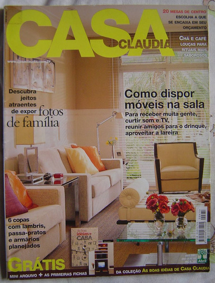 Revista Casa Claudia - Nº 04 - Abril De 2001.