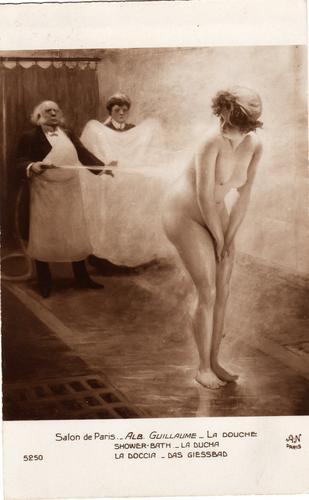 Antiguas Postales Desnudos Francesas Cuadros Salon De Paris