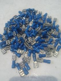 Terminal Fêmea Azul Para Fio 0,5 Á 1,5mm Pacote Com 125 Un