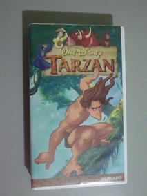 Fita Vhs Tarzan - Dublado