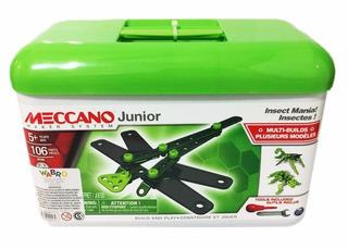 Meccano Junior Caja Herramientas 106 Pzs Insectos Educando